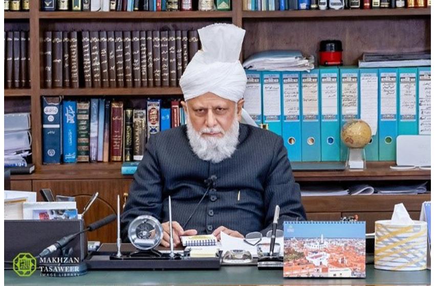 سیدنا حضرت خلیفۃ المسیح الخامس ایدہ اللہ تعالیٰ بنصرہ العزیزکا خصوصی پیغام مورخہ 27مارچ 2020ءبمقام دفتر اسلام آباد،ٹلفورڈ  یو کے