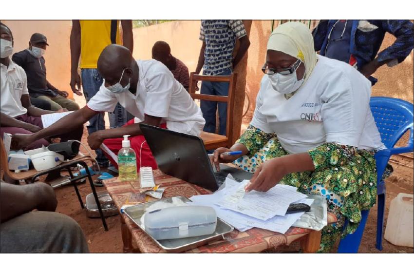 جماعت احمدیہ برکینا فاسو کی انسداد کرونا وائرس کے لیے مساعی