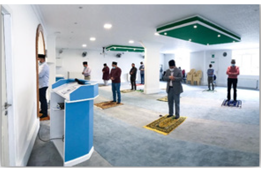 لاک ڈاؤن کے بعد مسجد کے درودیوار دیکھ کر دل ودماغ روحانی سرور سے سرشار ہوگئے