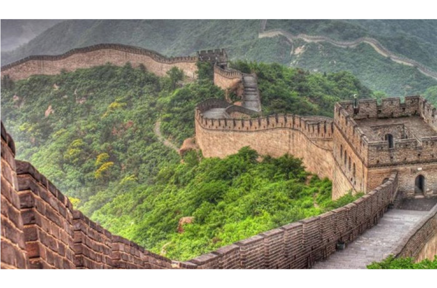 عظیم دیوار چین (The great wall of China)